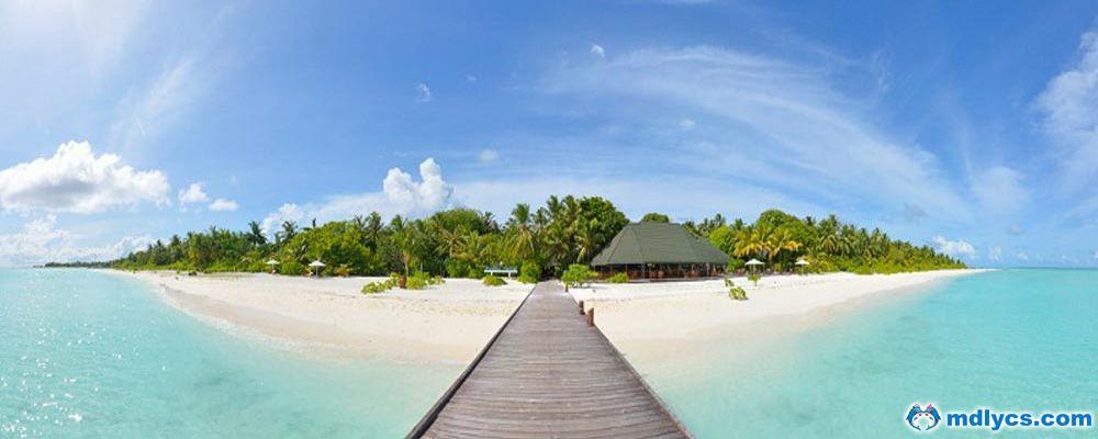 马尔代夫假日岛6天4晚自由行上海美佳直飞