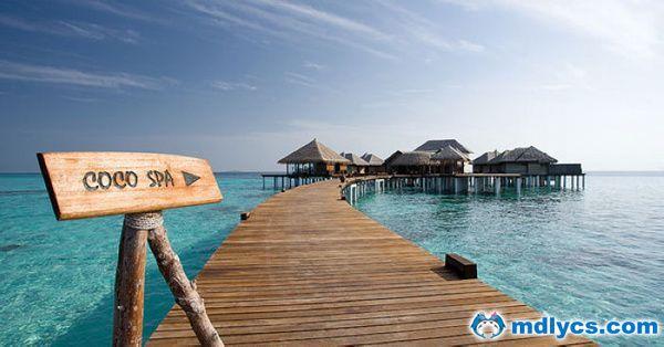 马尔代夫波杜希蒂岛6天4晚自由行上海新航转机