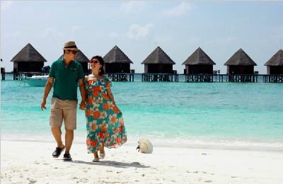 马尔代夫之蓝色美人蕉岛,一辈子总要去看的那片海