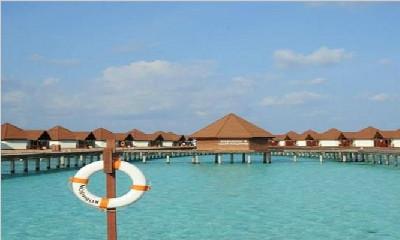 马尔代夫鲁宾逊岛6天4晚自由行上海新航转机