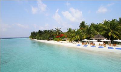 马尔代夫椰子岛6天4晚自由行成都直飞