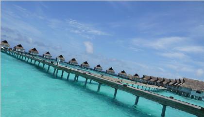 马尔代夫中央格兰岛6天4晚自由行上海新航