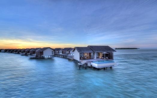 马尔代夫瑞喜敦岛7天5晚自由行上海美佳直飞