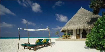 马尔代夫杜妮可鲁岛6天5晚自由行北京斯航转机