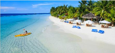马尔代夫椰子岛6天4晚自由行香港美佳直飞